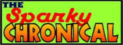 New Sparky Chronicle Logo, Said to Impart More of a Masculine Look