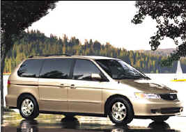 Honda Odyssey van that the old folks bought.
